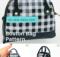 Micro Boston Bag Free Sewing Pattern