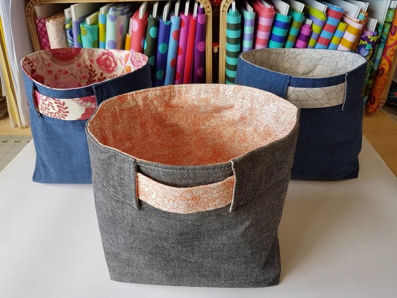 DIY Bucket Sewing Pattern