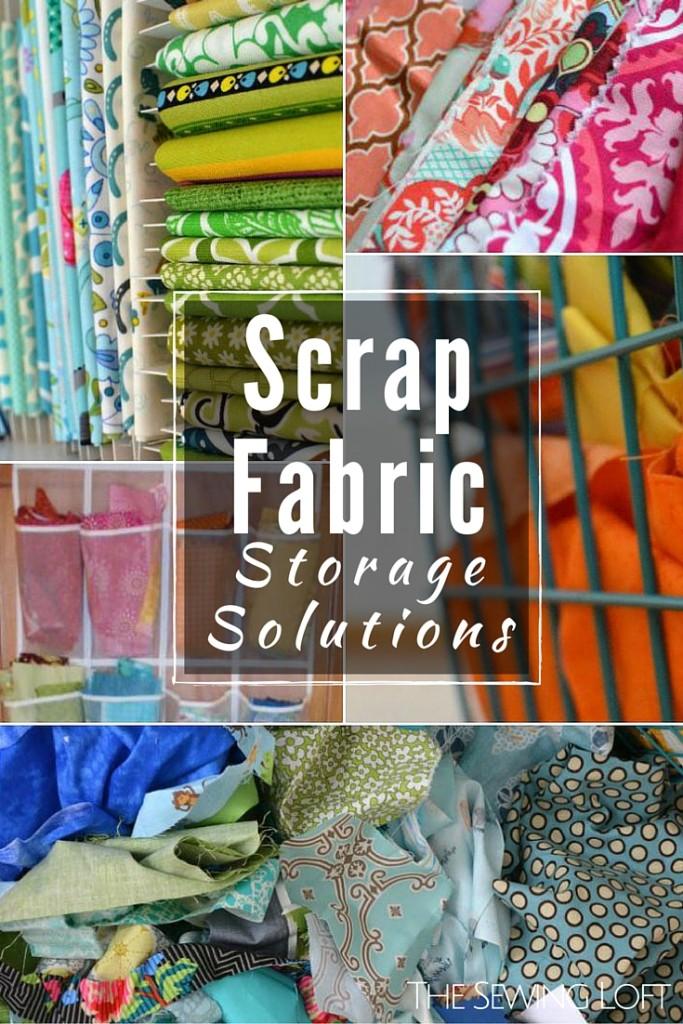 Scrap Fabric Storage Solutions