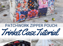 Free Trinket Case Sewing Tutorial - Boxy Pouch Design