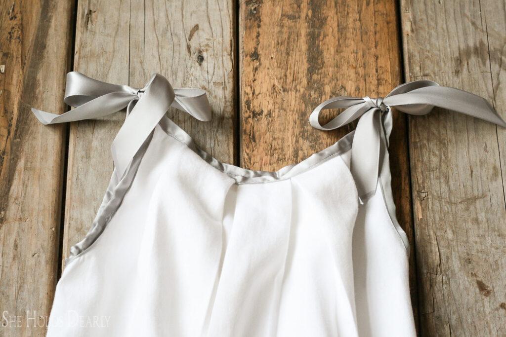 Pillowcase Nightie Sewing Tutorial for beginners