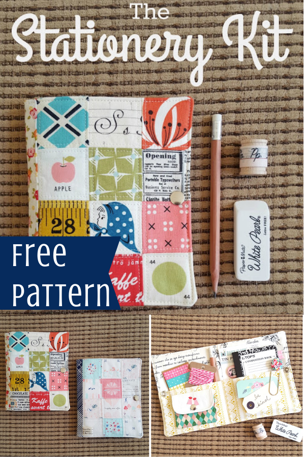 Free Stationary Kit Sewing Pattern and Tutorial