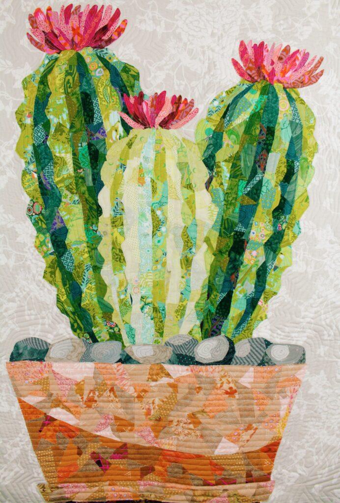 Cactus Collage Quilt Tutorial