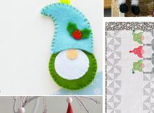 Holiday Gnomes Sewing Patterns