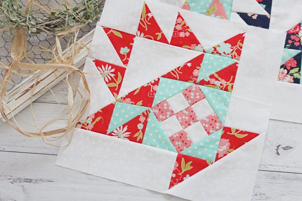 Basket Quilt Block - Free Sewing Pattern