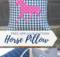 Free Horse Applique Pillow Pattern