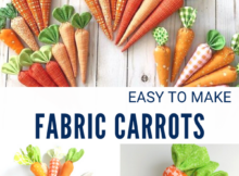Ease To Sew Fabric Carrots