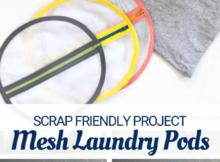DIY Mesh Laundry Bags