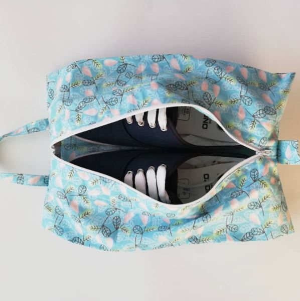 Expandable Storage Bag Free Sewing Pattern