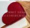 Free Leather Heart Bookmark PDF pattern