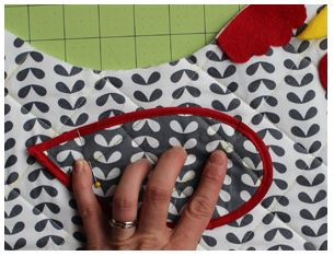 Free Chicken Basket Cover Sewing Pattern