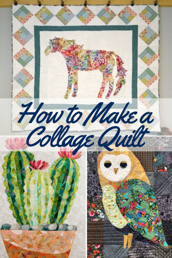 How to make a collage quilt