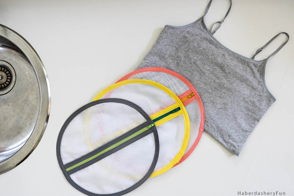 DIY mesh laundry pods