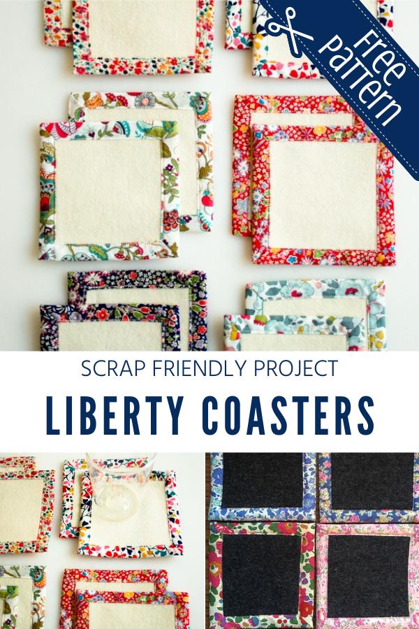 Scrap Friendly Liberty Coaster Tutorial