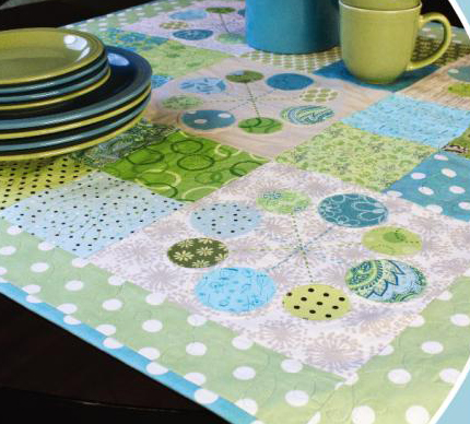 weekend quilts table runner