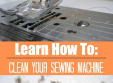 Learn How To Clean Your Sewing Machine