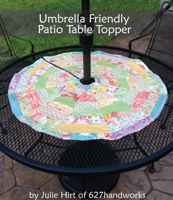 Umbrella Friendly Patio Table Topper Free Sewing Tutorial