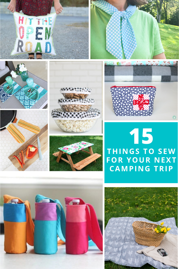 15 Sewing Projects for Camping