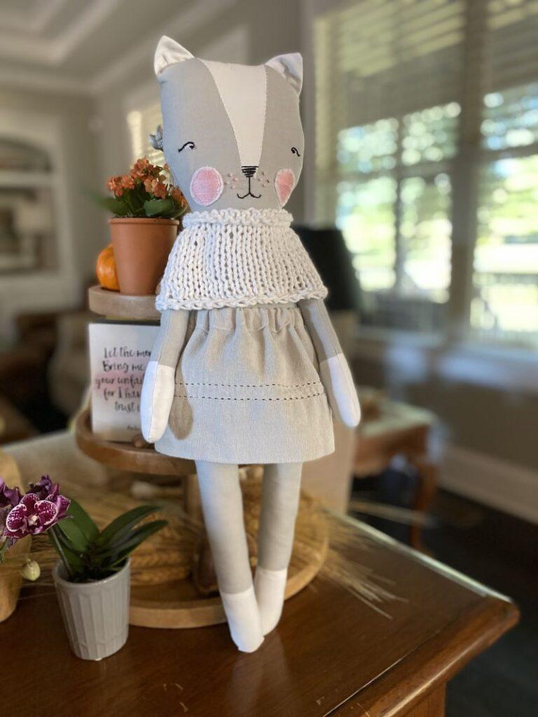 Cat Doll by Elizabeth Edge