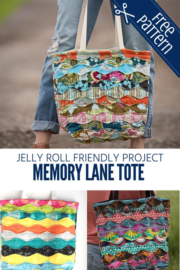 Free Memory Lane Tote Bag Sewing Pattern
