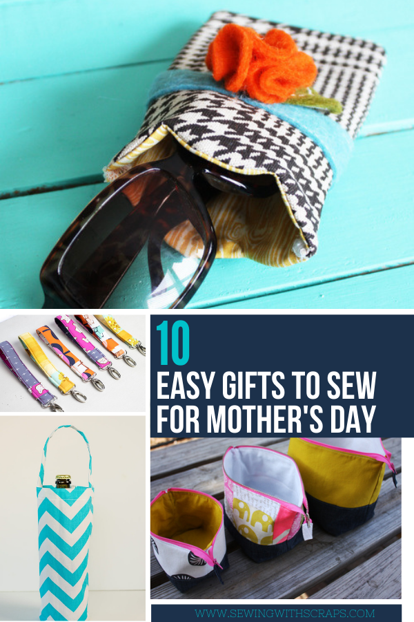 10 Quick Gifts to Sew for Mother's Day