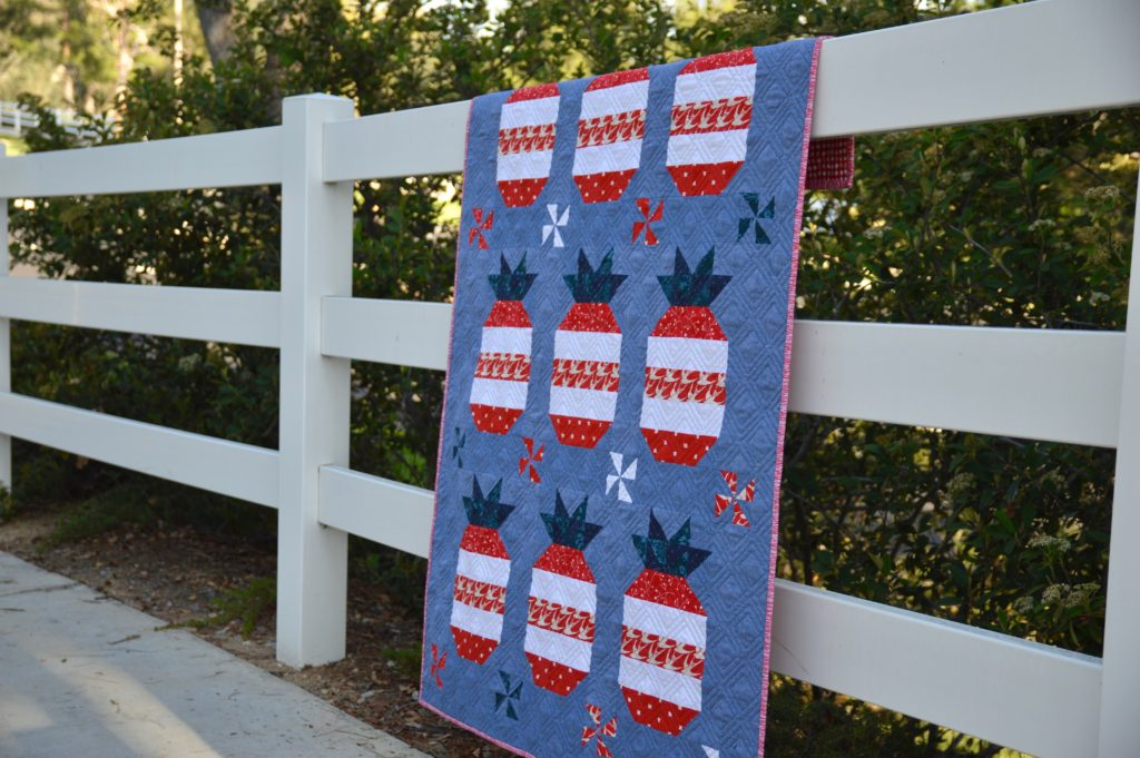 Free Star Spangled Quilt Sewing Pattern