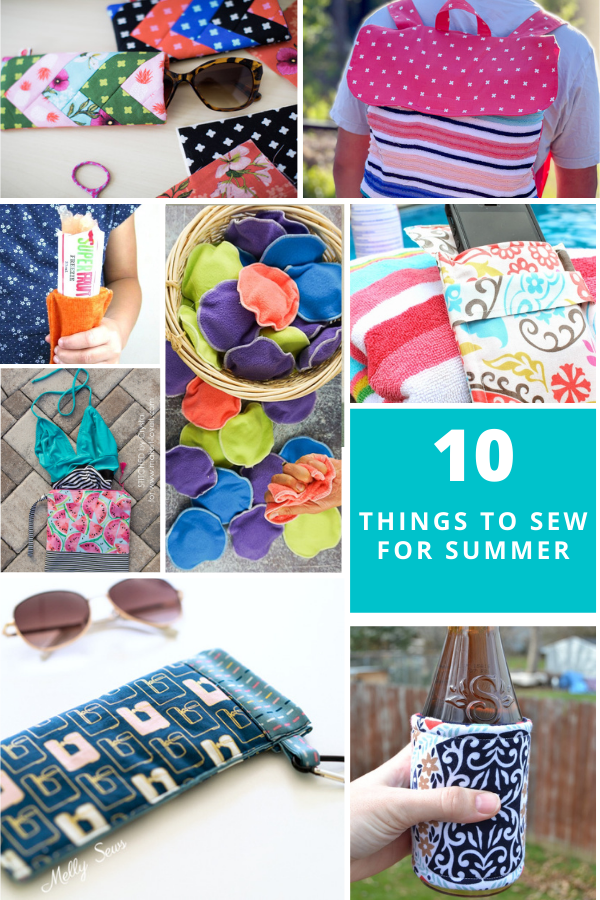 10 things to sew to beat the heat - sewing for hot weather