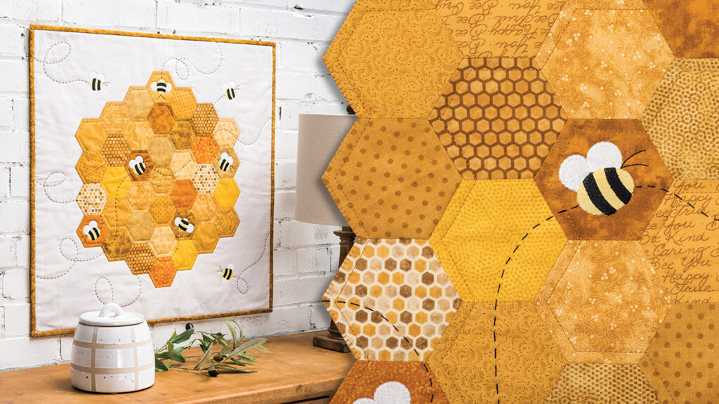 Busy Bees Mini Wall Quilt