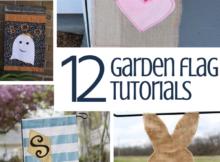 12 DIY Garden Flags