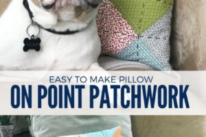 Free Patchwork Pillow Sewing Pattern