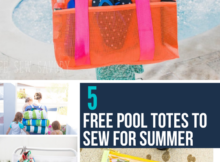 Free pool totes sewing patterns