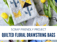 Quilted Treat Bag Sewing Tutorial