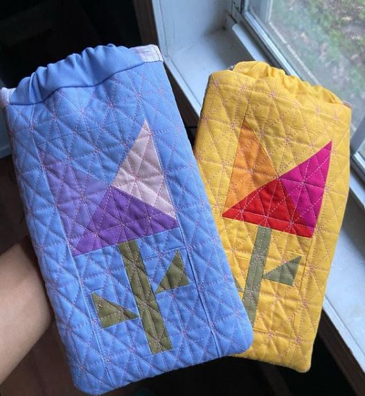 Quilted Treat Bag Tutorial
