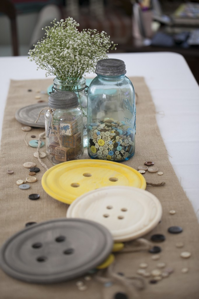 Cute As a Button Baby Shower