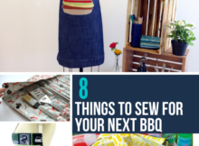 Backyard Grilling Sewing Projects
