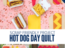 Free Hot Dog Quilt Sewing Pattern