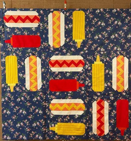 Hot Dog Day Free Sewing Pattern