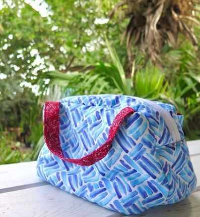 Fat Quarter Friendly lunch bag sewing pattern
