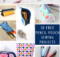 Free Pencil Case Sewing Patterns for Back To School Sewing
