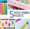 Back To School Sewing Pencil Projects