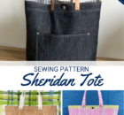 Free Sheridan Tote Sewing Pattern for Beginners