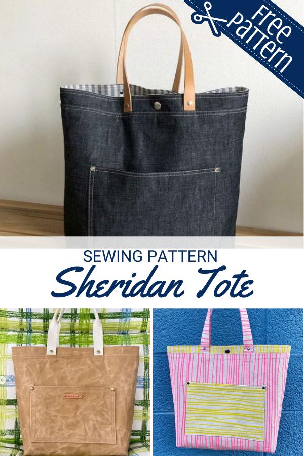 Free Sheridan Tote Sewing Pattern