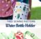 Water Bottle Holder Sewing Pattern