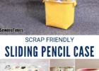 DIY Sliding Pencil Case Pattern