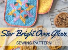 Star Bright Oven Mitt Sewing Pattern