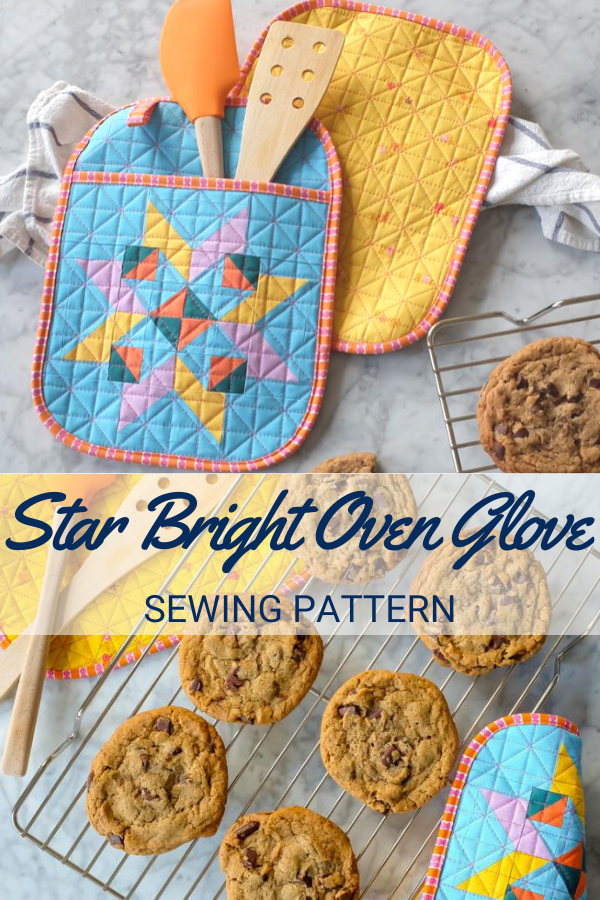 Star Bright Oven Glove Sewing Pattern