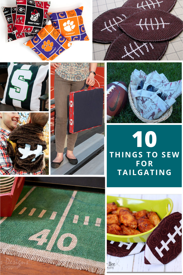 10 Things to Sew for Football Season