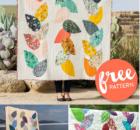 Free Hidden Garden Quilt Pattern