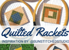 Quilted Tennis Rackets