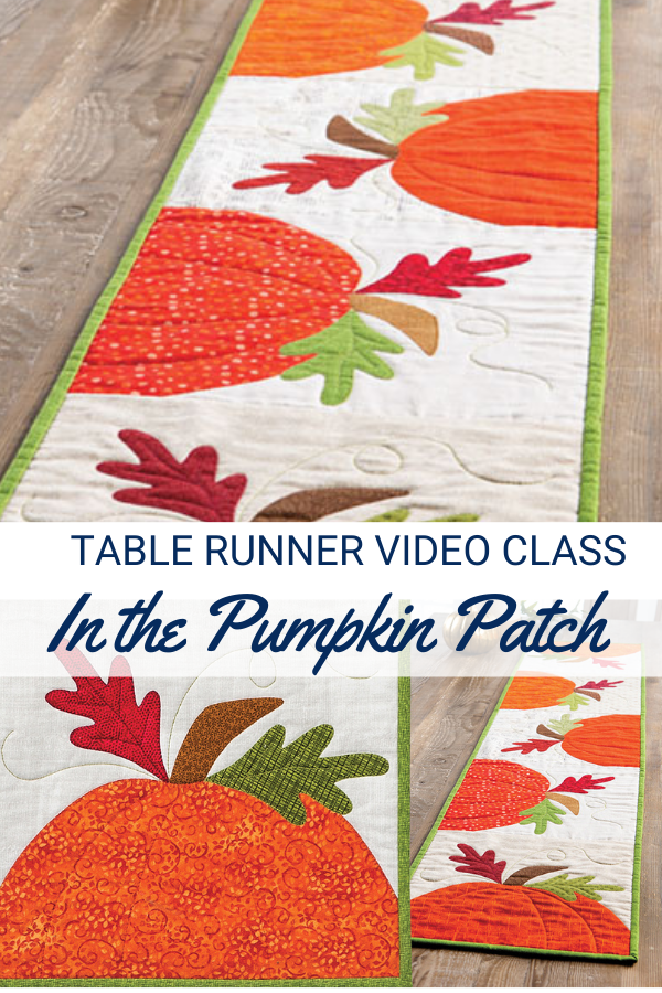 In the Pumpkin Patch Sewing Video